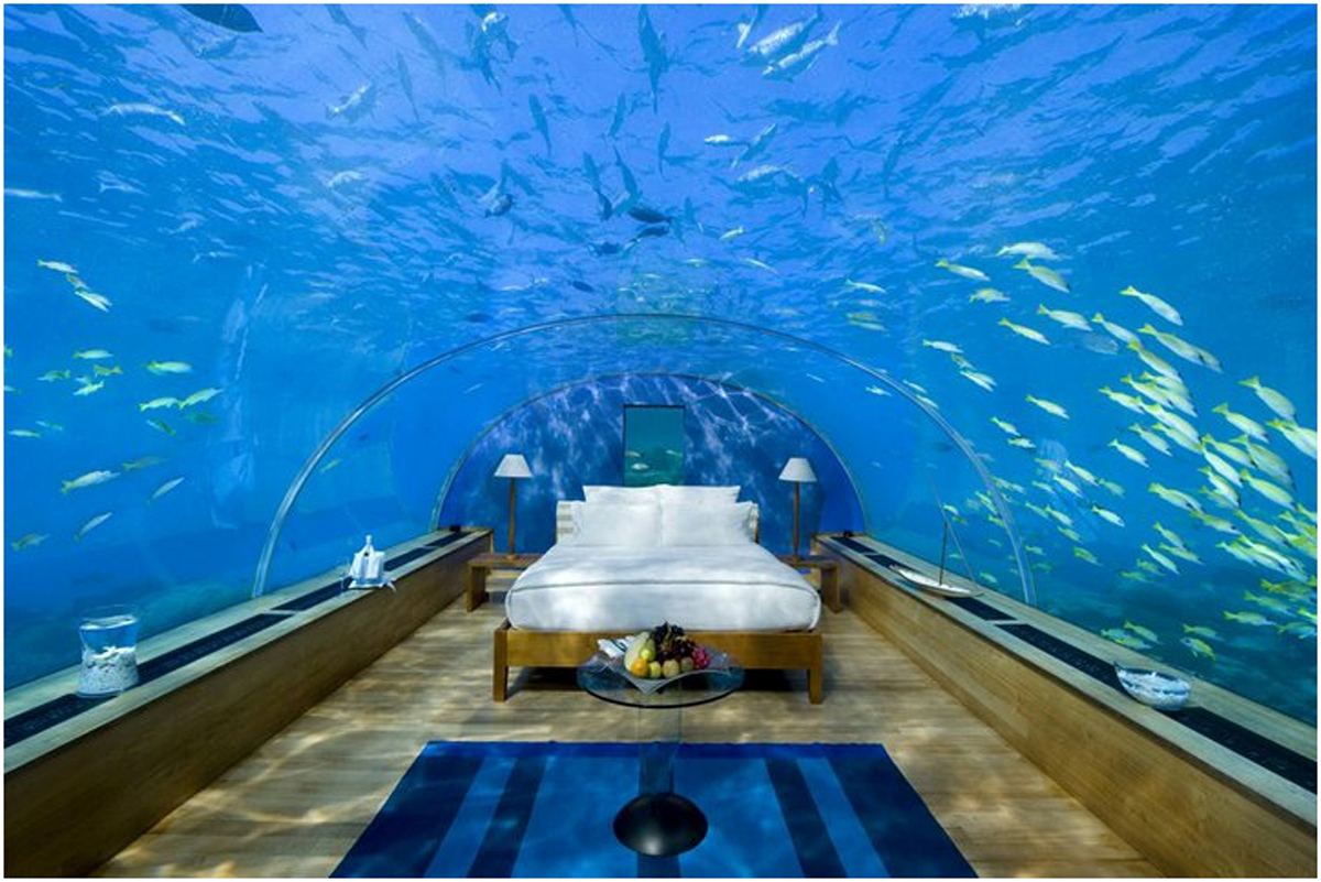 wonderful-lovely-bedroom-in-aquarium-design